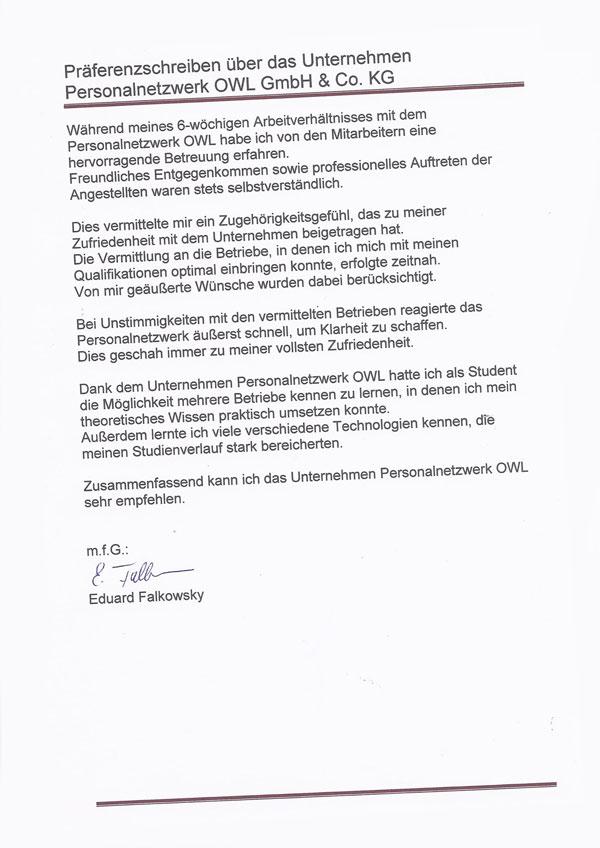 Schön Referenzschreiben Von Arbeitgeber Für Vermietung Fotos ...